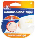 24 Units of ELMER'S DOUBLE-SIDED TAPE .50 X 300 INCH WITH DISPENSER PHOTO SAFE ACID FREE IN DISPLAY