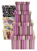 30 Units of GIFT BOX 4 PACK ASSORTED DESIGNS
