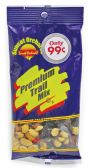 12 Units of SUNSET ORCHARDS PREMIUM TRAIL MIX 2 OZ PREPRICED AT .99 - Food & Beverage