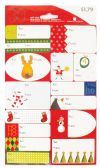 72 Units of CHRISTMAS GIFT TAGS 30 COUNT ASSORTED DESIGNS PREPRICED $1.79  MADE IN USA
