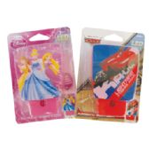 24 Units of DISNEY AUTOMATIC NIGHT LIGHT 4 INCH LED IN COUNTER DISPLAY ASSORTED DESIGNS PRINCESS/CARS/MICKEY MOUSE