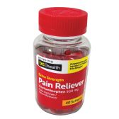 24 Units of PAIN RELIVER XTRA STRENGTH ACETAMINOPHEN 40 SOFTGELS 500 MG - Pain and Allergy Relief