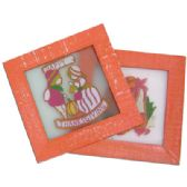48 Units of THANKSGIVING STAINED GLASS PLAQUE 6.5x6.5 INCH PREPRICED AT $2.99