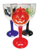48 Units of HALLOWEEN CUPS ASTD DESIGNS - Halloween & Thanksgiving