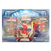 48 Units of MARVEL SPIDERMAN CRAYONS 3 PK 8 CT
