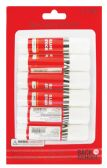 49 Units of GLUE STICK 6 PK 0.31 OZ EACH PREPRICED $1.99