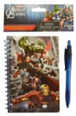 24 Units of AVENGERS NOTEBOOK + PEN SET 60 PAGE 4 X 6 INCH MINI