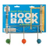 18 Units of OVER THE DOOR HOOK RACK 9 INCH 3 PRONGS METAL