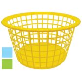 36 Units of LAUNDRY BASKET 16 X 9.5 INCH ASSORTED COLORS