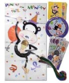 144 Units of AMERICAN GREETING BIRTHDAY KIT 33 PC PARTY ANIMAL DESIGN 8 EACH