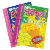48 Units of DAILY MIRROR SUDOKU BOOK 96 PG ASSORTED VOLUMES PREPRICED $4.95 - Crosswords, Dictionaries, Puzzle books