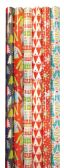 60 Units of CHRISTMAS GIFT WRAP 40 SQFT 30 INCHESX16 FEET HOLIDAY PARTY ASSORTED DESIGNS - Gift Wrap
