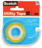 144 Units of 3M SCOTCH UTILITY TAPE .5 X 700 INCH - Tape