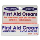 24 Units of FIRST AID CREAM 1 OZ ANTISEPTIC