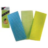 48 Units of BEAUTY SKIN CLOTH 11 X 35 INCH ASSORTED COLORS