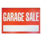 48 Units of PRIDE PLASTIC SIGN GARAGE SALE 13.5 X 20 INCHES - Signs & Flags