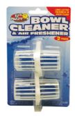 24 Units of TOILET BOWL CLEANER AND AIR FRESHENER 2 PACK