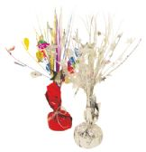 24 Units of BALLOON WEIGHT CENTERPIECE 13 INCH FOIL WRAPPED ASSORTED COLORS - Balloons/Balloon Holder