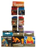 48 Units of CONTEMPO AND ROUGH RIDER CONDOMS 3PK ASSORTED IN DISPLAY
