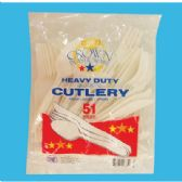 48 Units of PLASTIC CUTLERY 51 COUNT COMBO