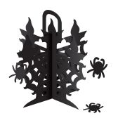 12 Units of 3-D Candelabra Centerpiece 3 spiders included; assembly required - Party CenterPieces