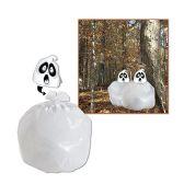 12 Units of Spooky Spirit Leaf Bag plastic - Party Favors
