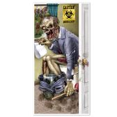 12 Units of Zombie Restroom Door Cover indoor & outdoor use - Photo Prop Accessories & Door Cover