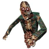 6 Units of 3-D Zombie Wall Decoration assembly required