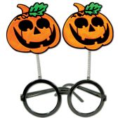 12 Units of Jack-O-Lantern Bopper Glasses one size fits most