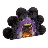 12 Units of Cauldron & Bats Pop-Over Centerpiece - Party Center Pieces