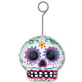6 Units of Day Of The Dead Male Photo/Blln Holder - Balloons & Balloon Holder