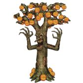 12 Units of Jointed Scary Tree prtd 2 sides - Bulk Toys & Party Favors