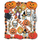 Halloween Decorating Kit - 25 Pcs