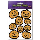 12 Units of Jack-O-Lantern Stickers