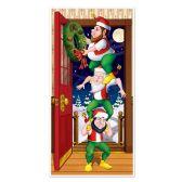 12 Units of Christmas Elves Door Cover indoor & outdoor use