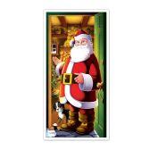12 Units of Santa Door Cover indoor & outdoor use - Photo Prop Accessories & Door Cover