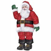12 Units of Jointed Santa - Bulk Toys & Party Favors