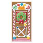 12 Units of Gingerbread House Door Cover indoor & outdoor use - Photo Prop Accessories & Door Cover