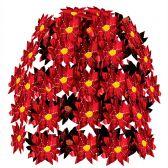 12 Units of Poinsettia Cascade - Party Center Pieces