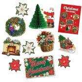 6 Units of Christmas Decorama