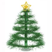 12 Units of Christmas Tree Centerpiece green