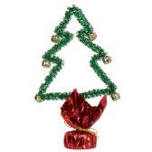 12 Units of Christmas Tree Gleam 'N Shape w/Bells