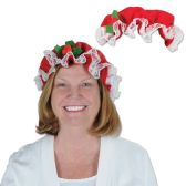 12 Units of Mrs. Claus Hat one size fits most - Party Hats & Tiara