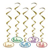 6 Units of Christmas Word Whirls