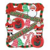 1 Units of Christmas Decorating Kit - 20 Pcs