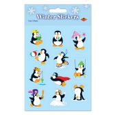 12 Units of Penguin Stickers