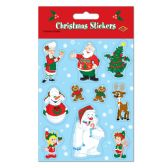 12 Units of Christmas Stickers