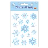 12 Units of Snowflake Stickers