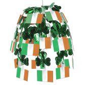 12 Units of Irish Flag Cascade combination metallic & boardstock - Party CenterPieces
