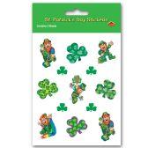 12 Units of Leprechaun Stickers
